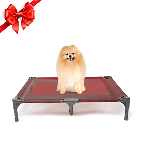 Suddus Elevated Dog Beds Waterproof, Waterproof Outdoor Dog Bed Cover