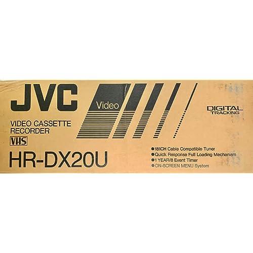JVC HR-DX20U VCR Electronics VCRs pubfactor.ma