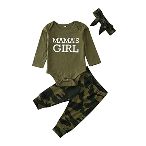 Camouflage Pants Outfits Tc Newborn Infant Baby Boy Pullover Hoodie Shirt Tops