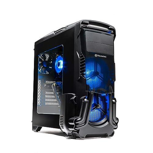 SkyTech Rampage - Gaming Computer PC Desktop - Ryzen 5 1600 6-core 3 2 Ghz,  NVIDIA GeForce GTX 1060 3GB, 500G NV Me PCIe SSD, 8GB DDR4, AC WiFi,